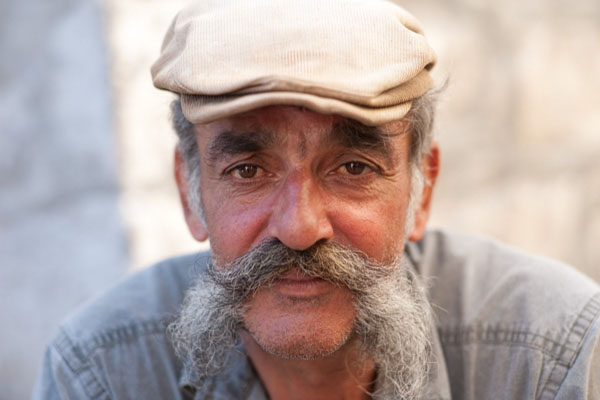 Portrait D'un Moustachu.