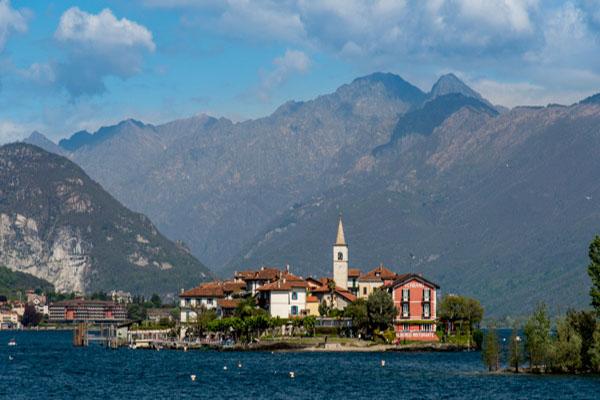 Lago Maggiore - Isola Dei Pescatori Depuis Isola Bella