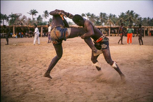 Lutte Traditionnelle Sénégalaise
