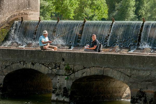 Barrage EDF, Sur Les Rives Du Tarn.