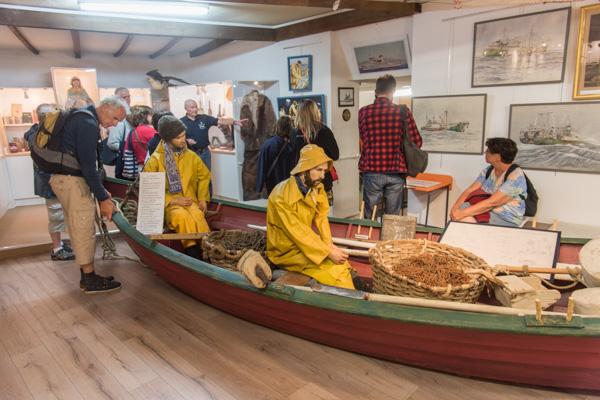 Saint-Malo. Le Musée Des Terre-Neuvas 67, Avenue Moka. Visite Commentée Par Un Ancien Pêcheur De Morue