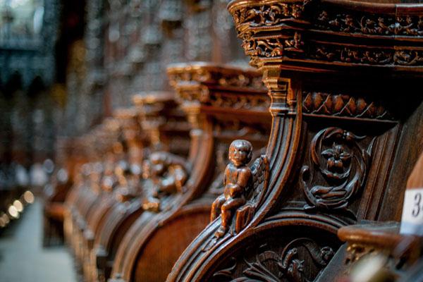 Cathédrale Sainte-Marie. Les Stalles.
