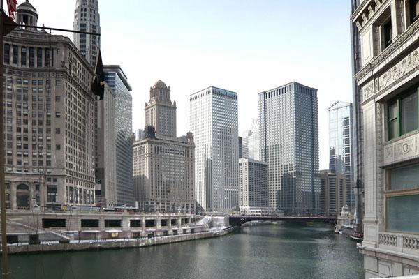 USA ILLINOIS CHICAGO Michigan Avenue