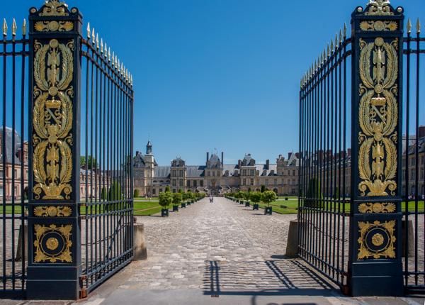 Château De Fontainebleau. Cour Du Cheval Blanc